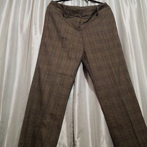 Dress pants. Brown. Sz 12